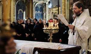 О заочном и церковном отпевании: зачем нужен чин и сколько он длится
