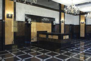 Ритуальный зал в крематории, фото