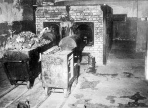 Крематорий в концентрационном лагере