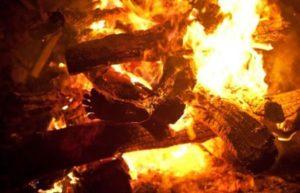 Сжигание тела фото