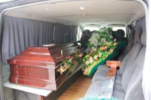Транспортировка гроба фото
