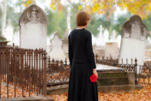 Визит на кладбище фото