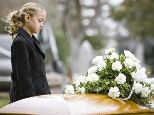 Дети на похоронах фото