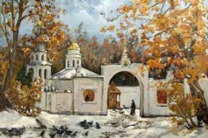 Изображение Покрова в живописи фото