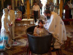 Крещение взрослых людей фото