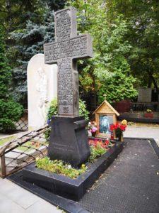 Могила Игоря Талькова фото