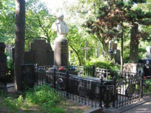 Могила Николая Гоголя фото