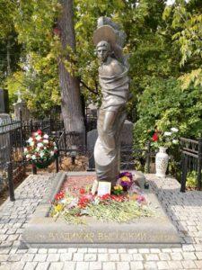 Могила Владимира Высоцкого фото