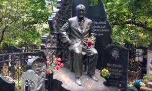Могила криминального авторитета Япончика на Ваганьковском фото