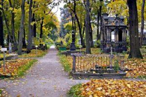 Новодевичье кладбище фото