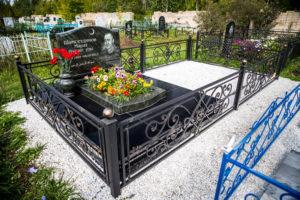 Оформление мусульманского надгробия с портретом фото