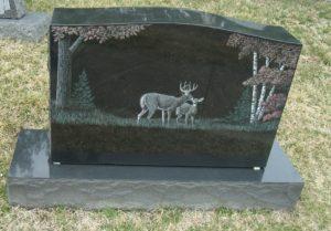 Памятное надгробие фото