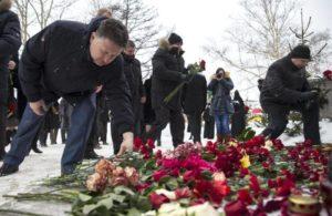 Похороны зимой фото