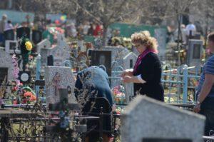 Посещение могилы в вербное воскресенье фото