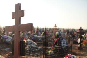 Православное кладбище фото