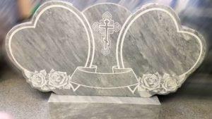 Пример мраморного памятника фото