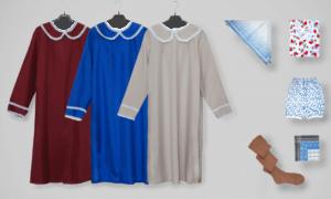 Пример одежды для захоронения женщины фото