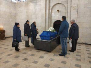 Ритуальный зал, Митинский крематорий фото