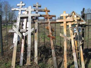 Старые кресты фото
