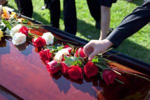 Цветы на похороны фото