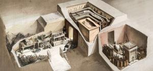 Усыпальница и смежные комнаты с дарами фото