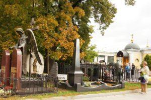 Ваганьковское кладбище фото