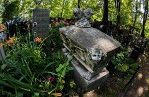 Захоронения Ваганьковского некрополя фото