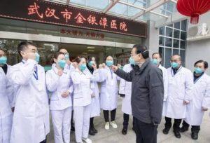 Борба с вирусом в Китае фото