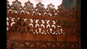 Деревянная оградка фото