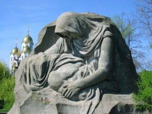 Мамаев курган статуя фото