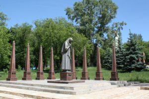 Памятник Матери, г. Задонск фото