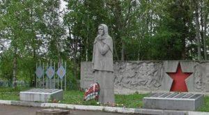 Памятник Скорбящая мать, Вологодская область фото