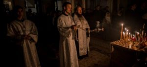 Процесс поминания в церкви фото