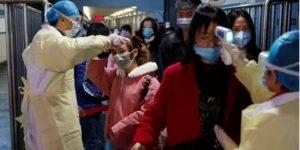 Проверка инфицированных в Китае фото