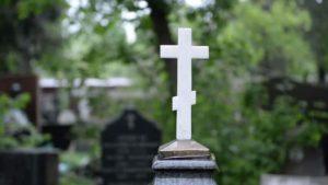Могильный крест фото
