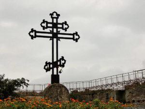 Пример креста на могилу фото