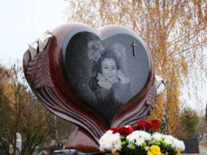 Надгробие на могиле девочки фото