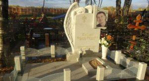 Памятник на Хованском кладбище фото