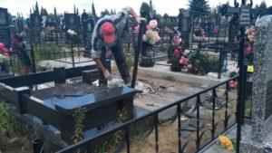Реставрация надгробия фото