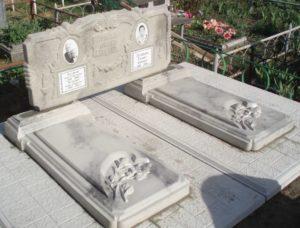 Двойное надгробие фото