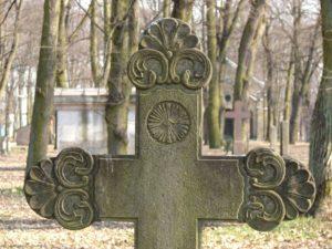 Крест поставленный на могилу фото