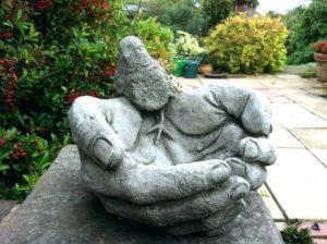 Скульптура из бетона фото