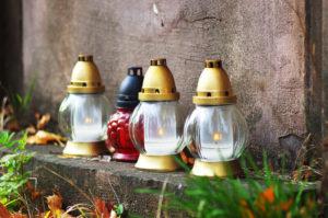 Стеклянные лампады фото