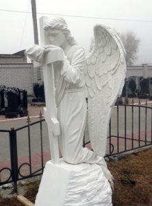 Скульптура из литьевого мрамора фото