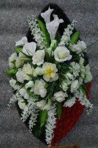 Икебана на гроб фото